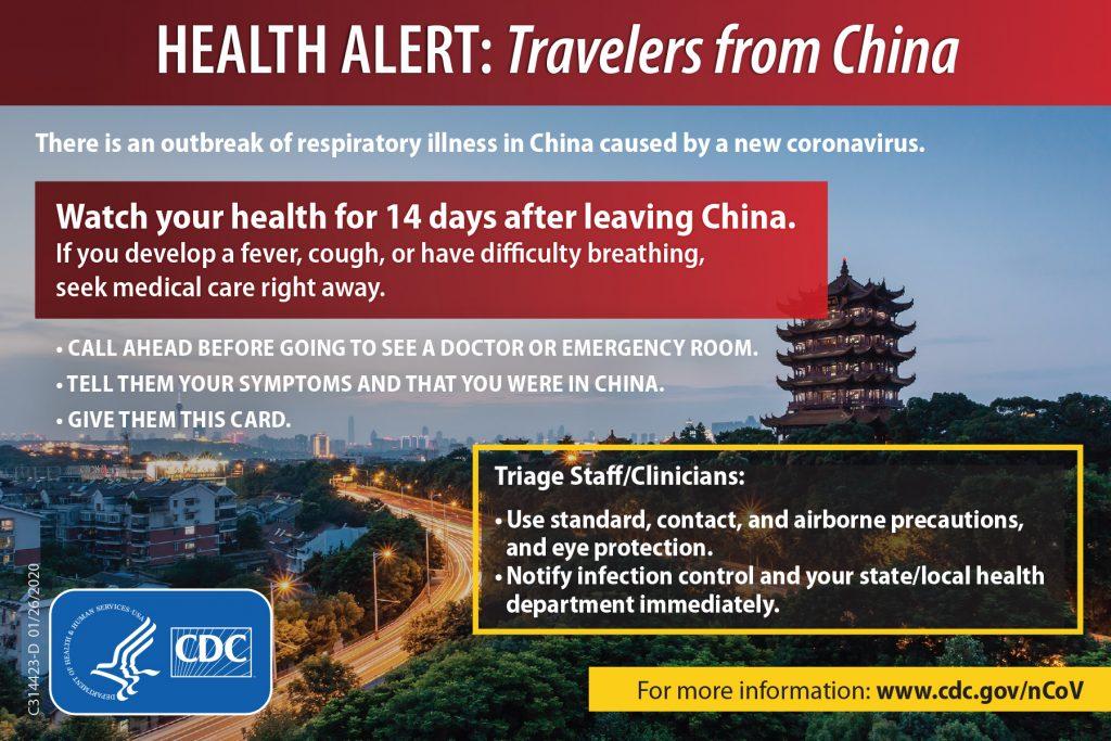 coronavirus information china