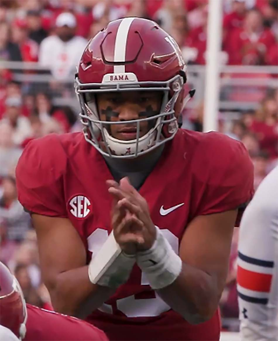 Tua Tagovailoa Announces Entry Into 2020 NFL Draft