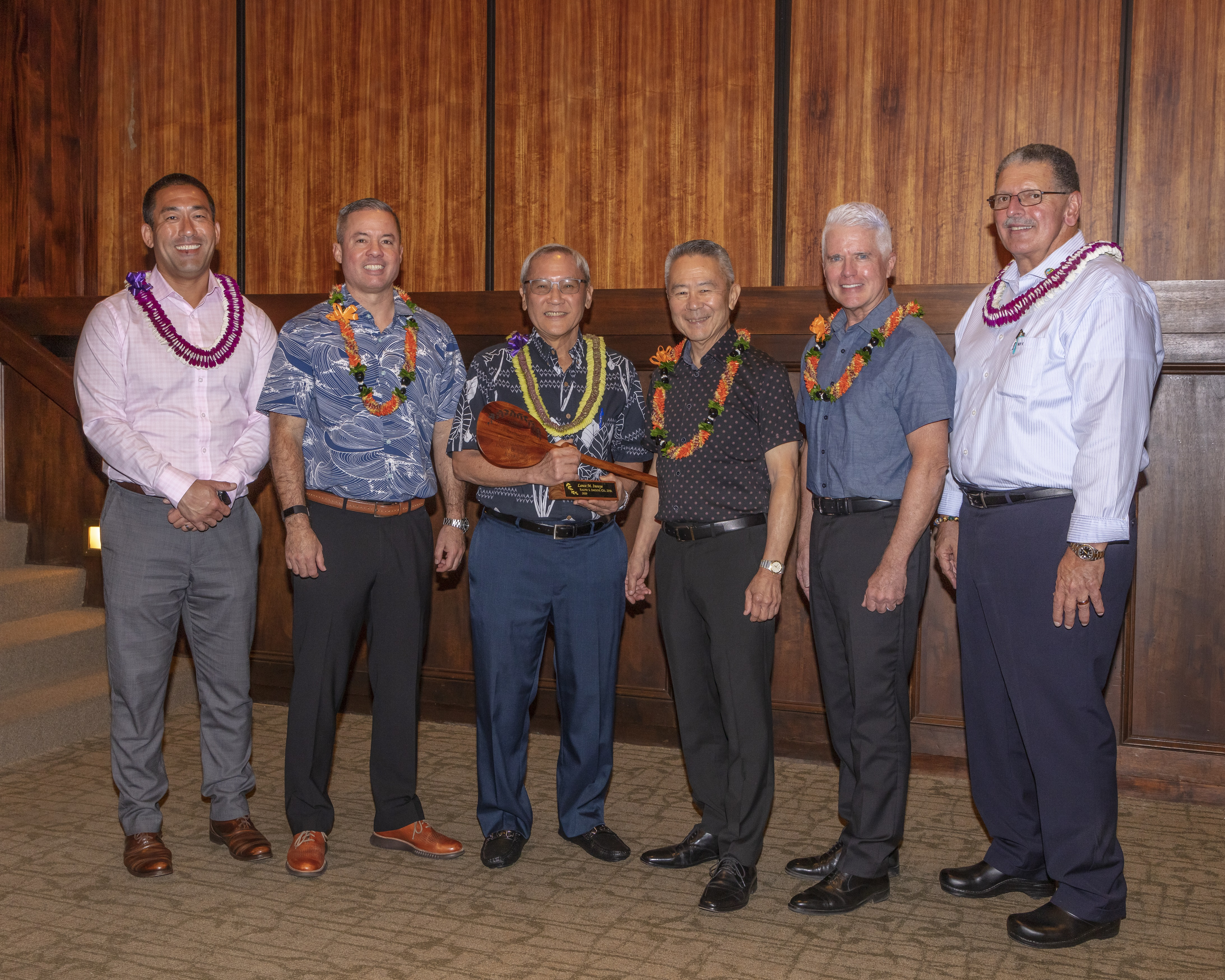 Inouye Recognized as ʻOutstanding Builder of the Yearʻ