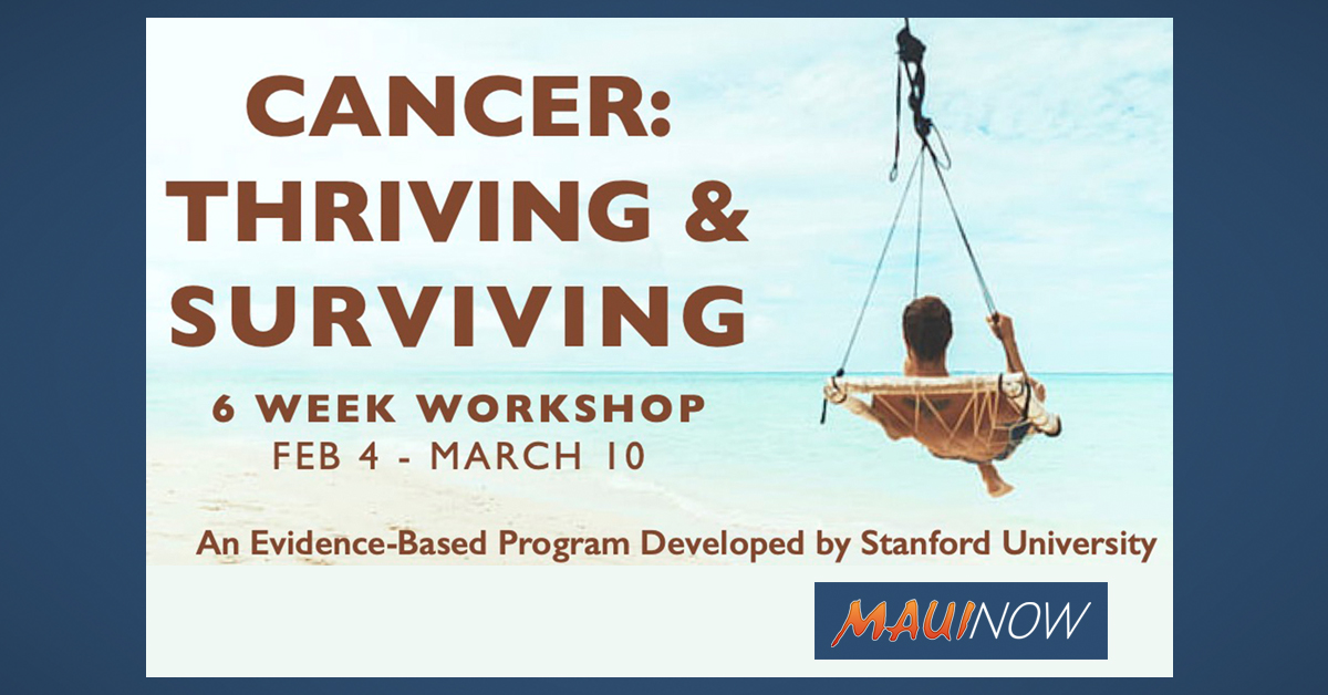 Free Cancer: Thriving & Surviving 6-Week Workshop Starts Next Week