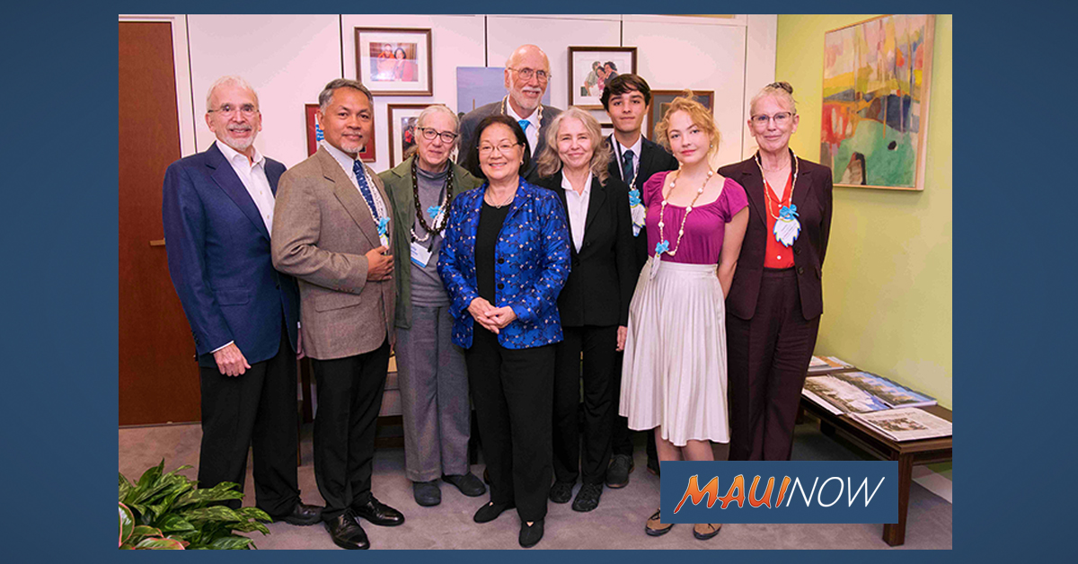 Maui Lobbyists Travel to Washington DC to Back Climate Bill