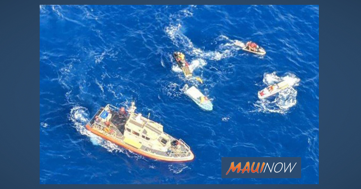 Two Mariners Rescued From Capsized Boat off Kaho'olawe