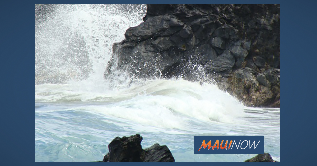 Warning: 10-15 Foot Surf for East Shores of Maui and Moloka'i