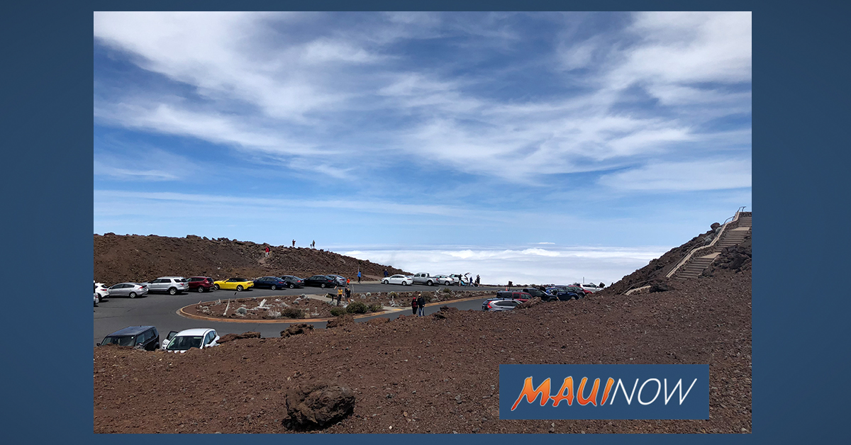 Haleakalā National Park to Close at 5 p.m. (Saturday, July 25) Ahead of Douglas