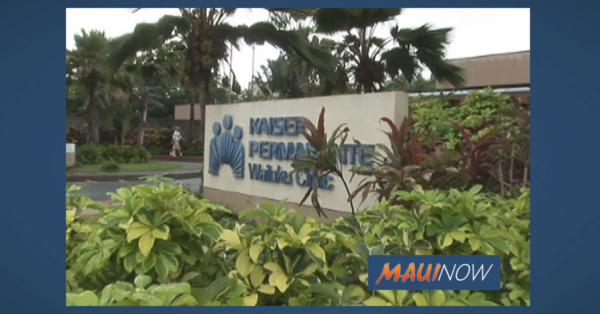 Kaiser Permanente Hawai'i Easing Visitor Restrictions