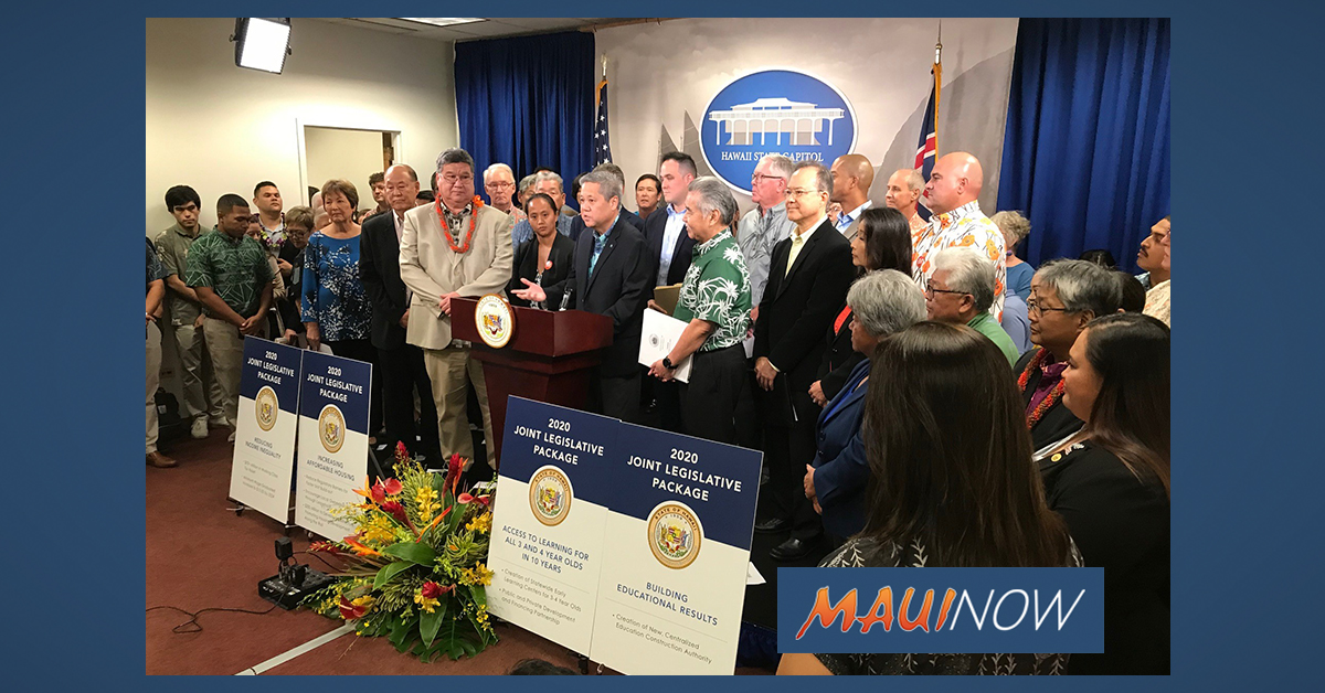 Joint Economic Package Proposes Benefits for Hawai'i's Working Class