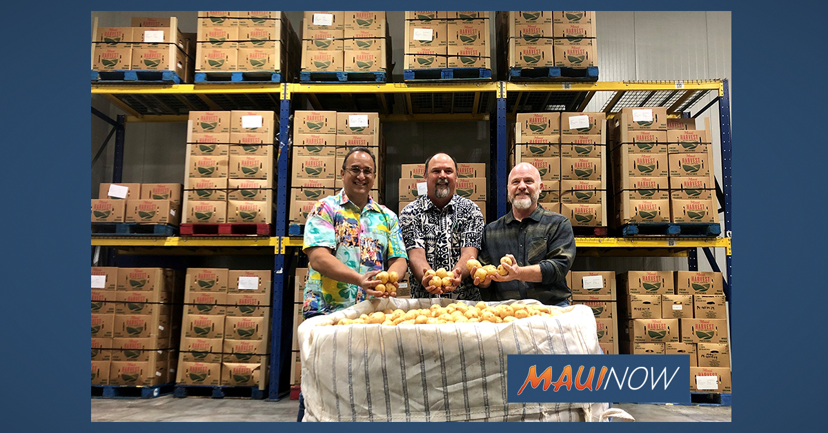 Mahi Pono Donates Nearly 30,000 Pounds of Potatoes to Hawai'i Foodbank