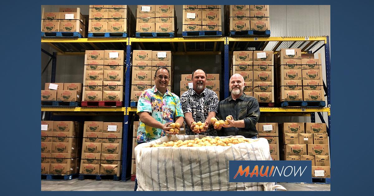 Mahi Pono Donates Nearly 30,000 Pounds of Potatoes to Hawai'i Foodbank