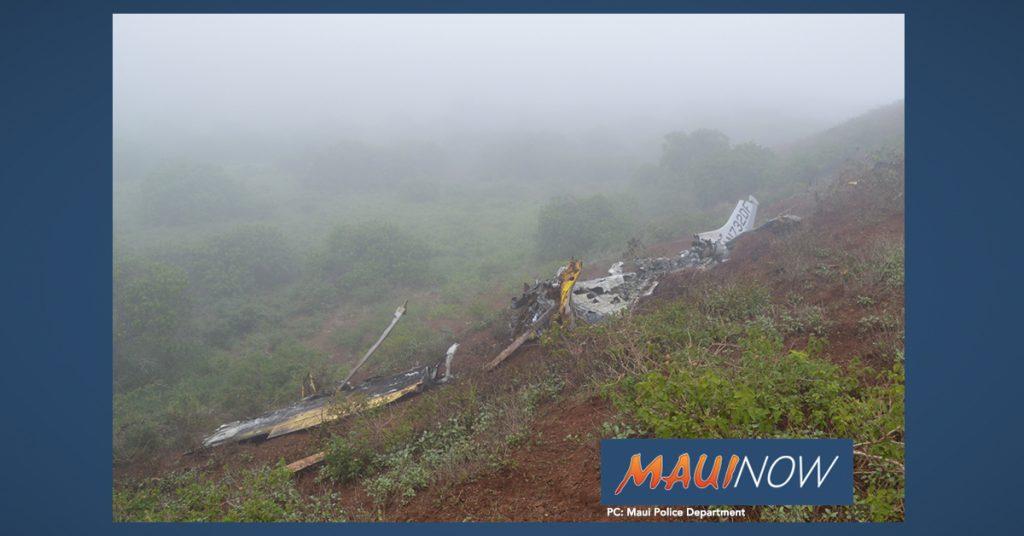 Maui Now: NTSB Final Report Filed for Deadly 2017 Moloka'i Cessna Crash