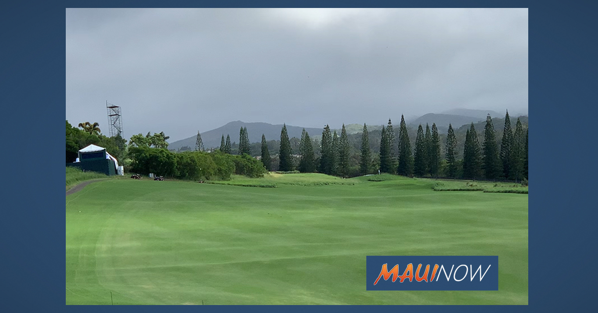 Hovland and Streb Secure Spots in Limited Field for Maui's Sentry Tournament of Champions