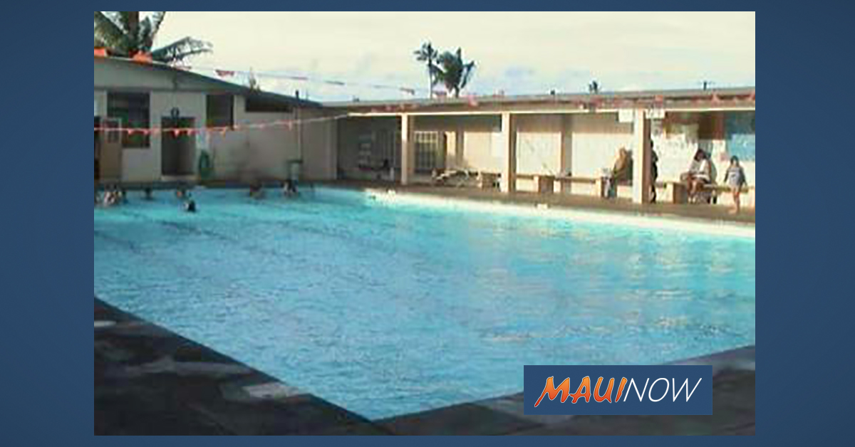 Coach Spencer Shiraishi Memorial Pool and New Wailuku Pool to Reopen June 15