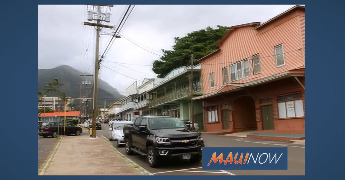 Community Meeting on Wailuku Town Improvements, Jan. 29