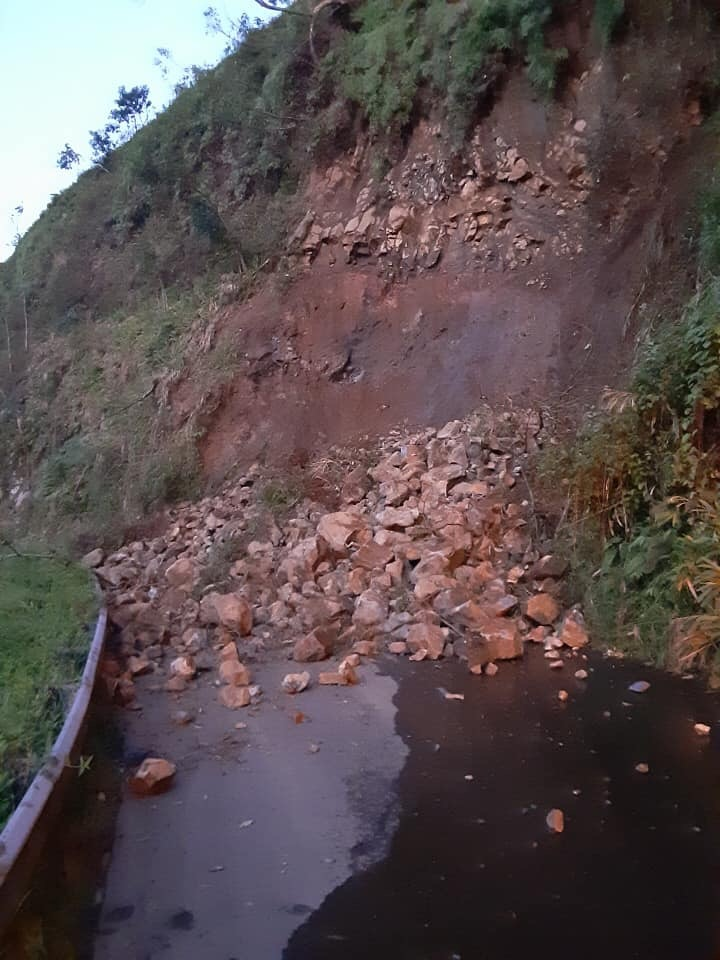 Update: Hāna Highway Advisory Due to Rock Slide
