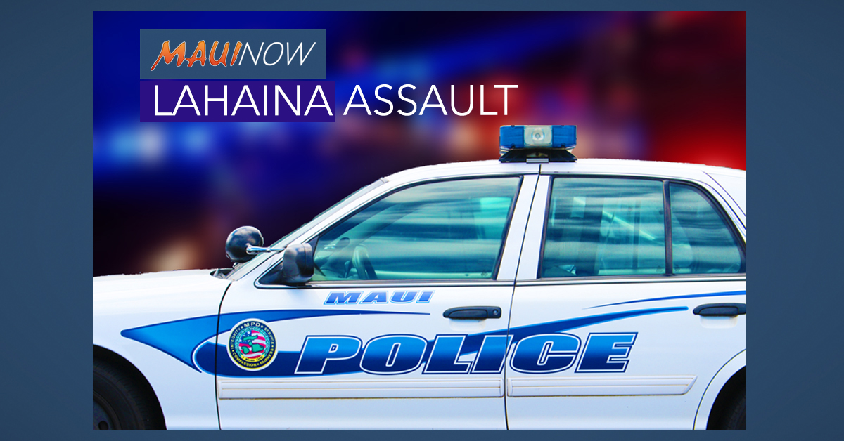 Lahaina Woman Arrested in Alleged Assault, Male Victim Critically Injured