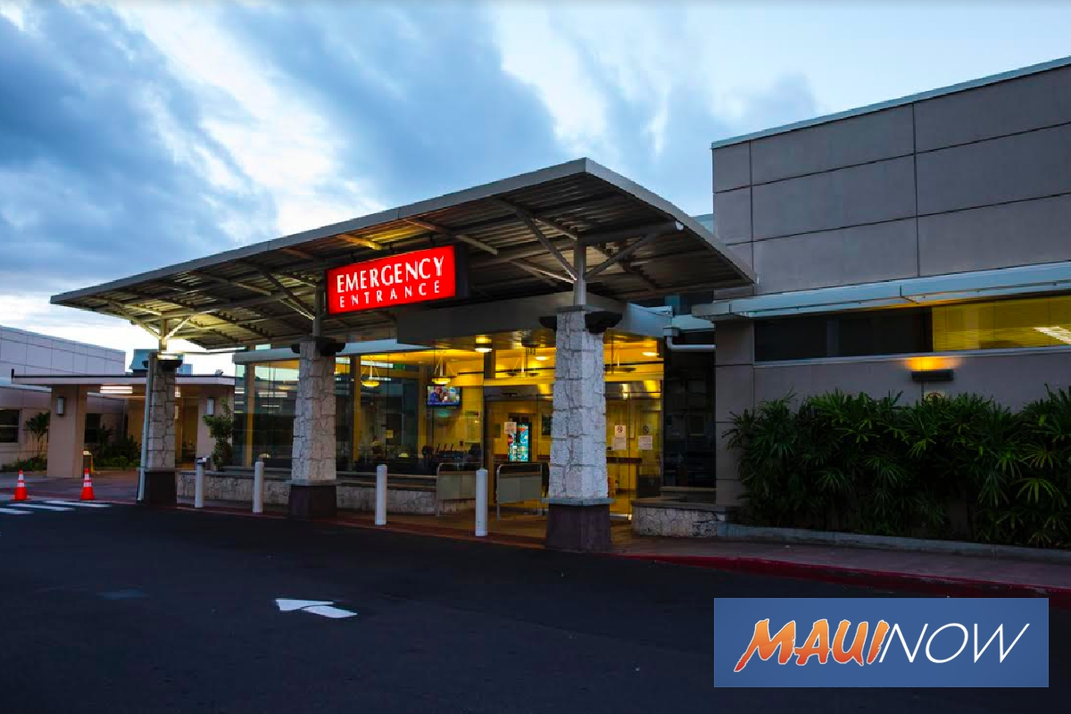 Maui Hospital Currently Has No COVID-19 Hospitalizations, Screening Tent to be Removed Ahead Douglas