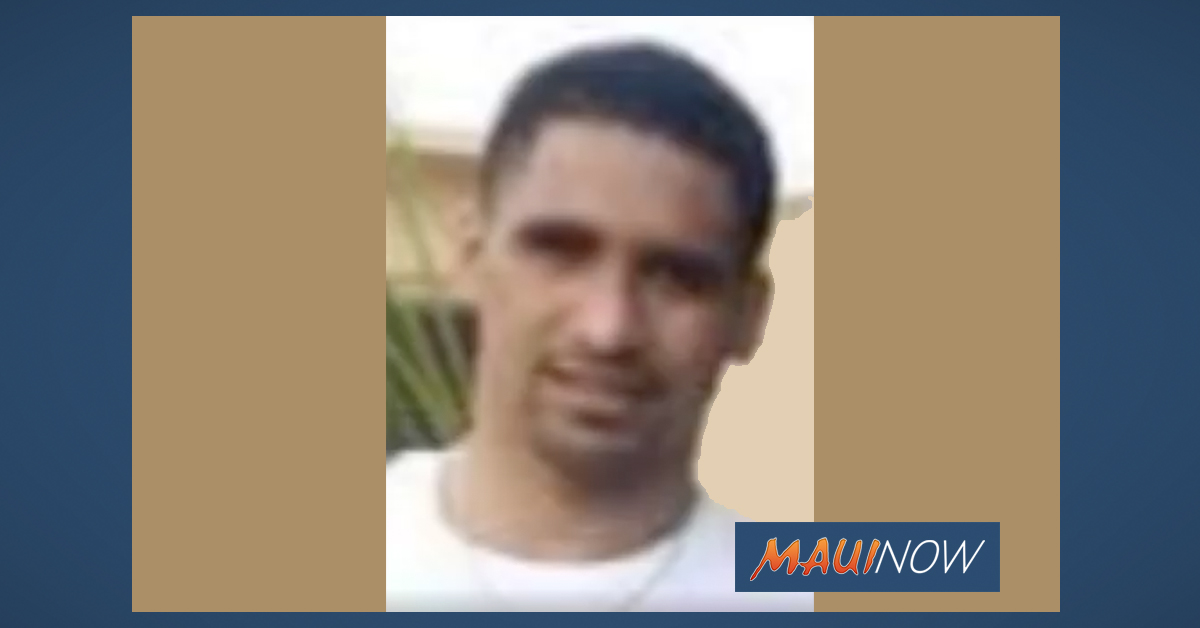 Maui Police Seek Help in Locating Man Wanted on Warrants