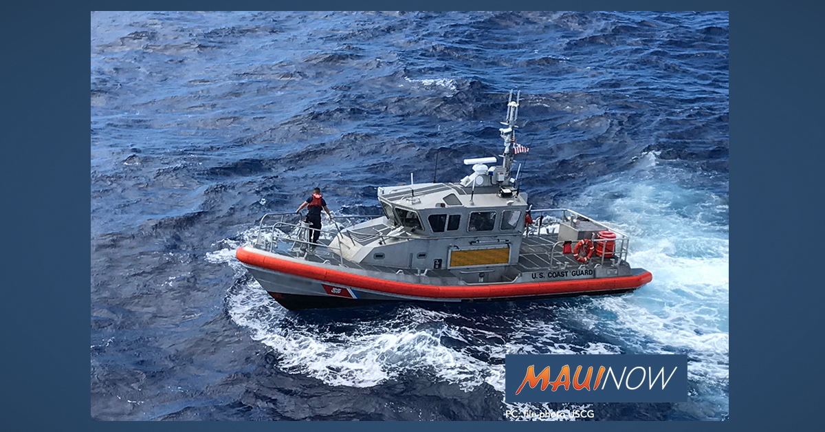 Operator of Overturned Jet Ski Rescued off Maui