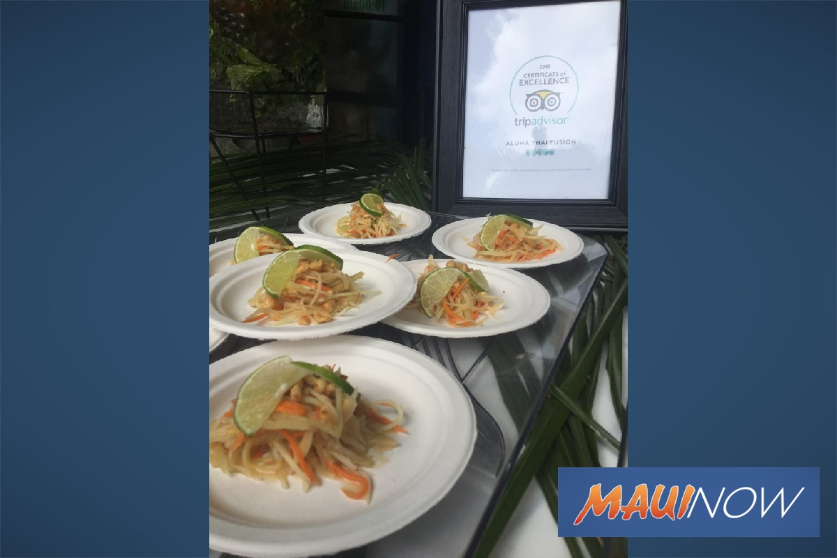 Aloha Thai Fusion Adds Kahului Location