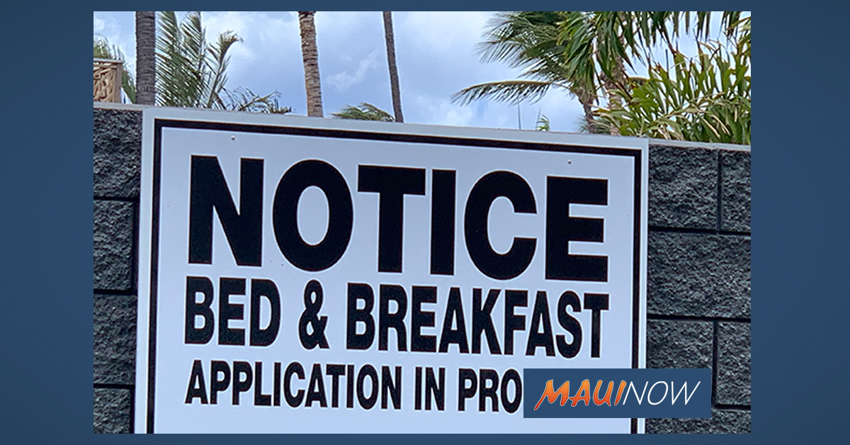 Maui TVRs Allowed to Restart on June 16, But Can Only Accommodate Individuals Not Subject to Quarantine