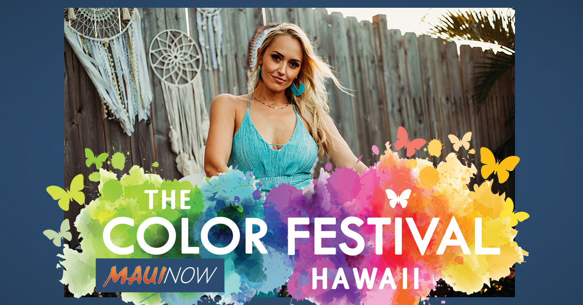 Color Festival Hawai'i Returns to the MACC, April 25