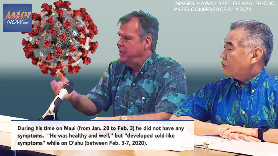 BREAKING: Japan Resident with Coronavirus was on Maui and O'ahu