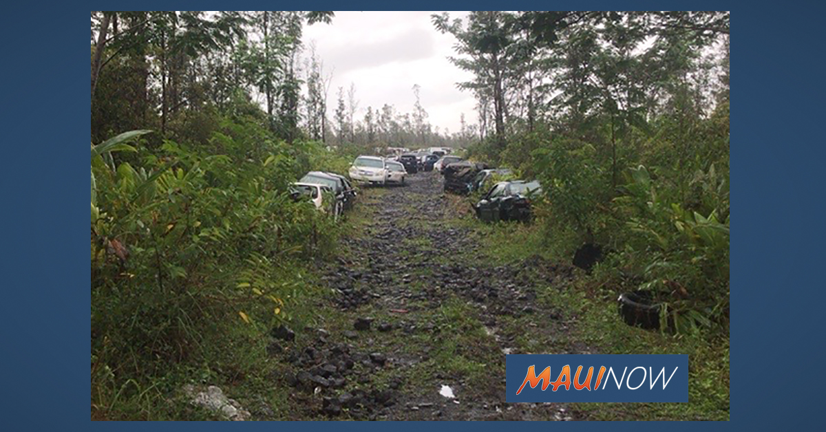 Abandoned Vehicles on Hawaiian Homelands Prompts Statewide Action