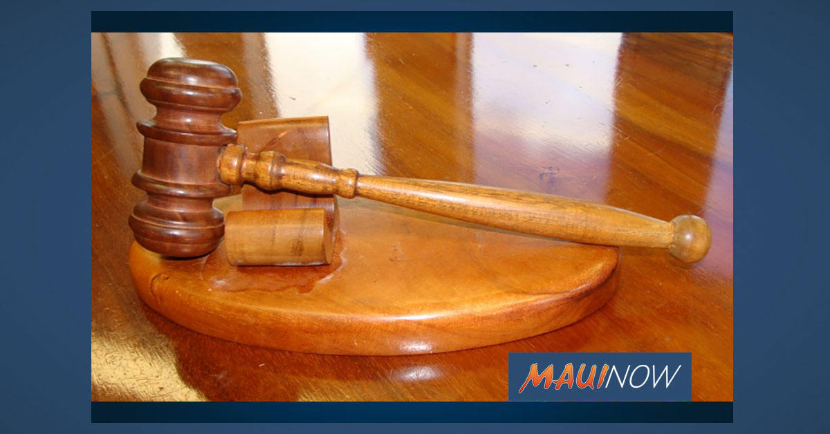 Maui Man Sentenced for Illegal Firearm Possession