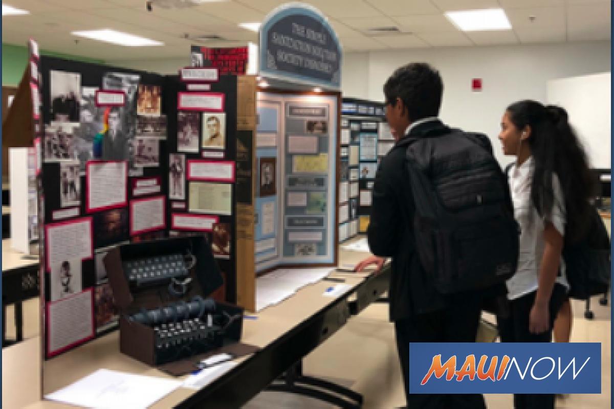 Maui Hawaiʻi History Day Fair, Feb. 22