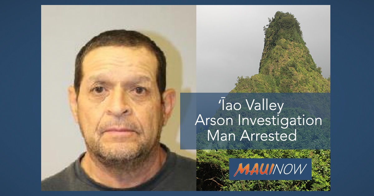Maui Man Arrested After Allegedly Attempting to Set Fire to His Residence