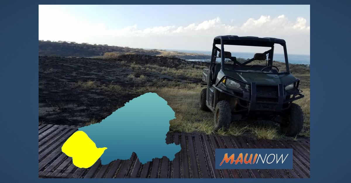 Day 4: Kaho'olawe Fire Blackens Nearly 20% of Island