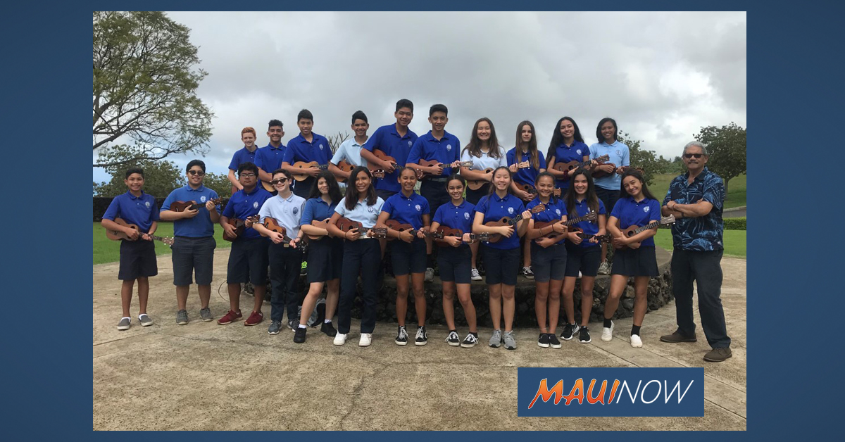 Kamehameha Middle School 'Ukulele Ensemble to Perform at The Shops March 13 and April 17