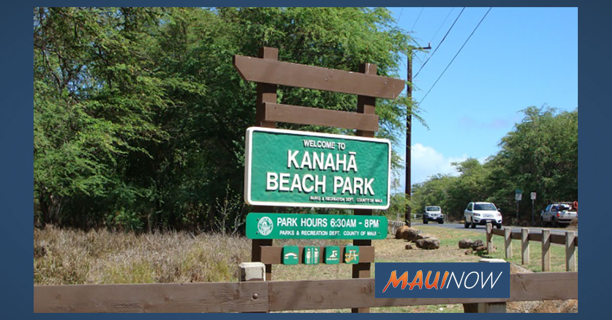 Kanahā Beach Park Third Entrance Closed Amid Waterline Repairs