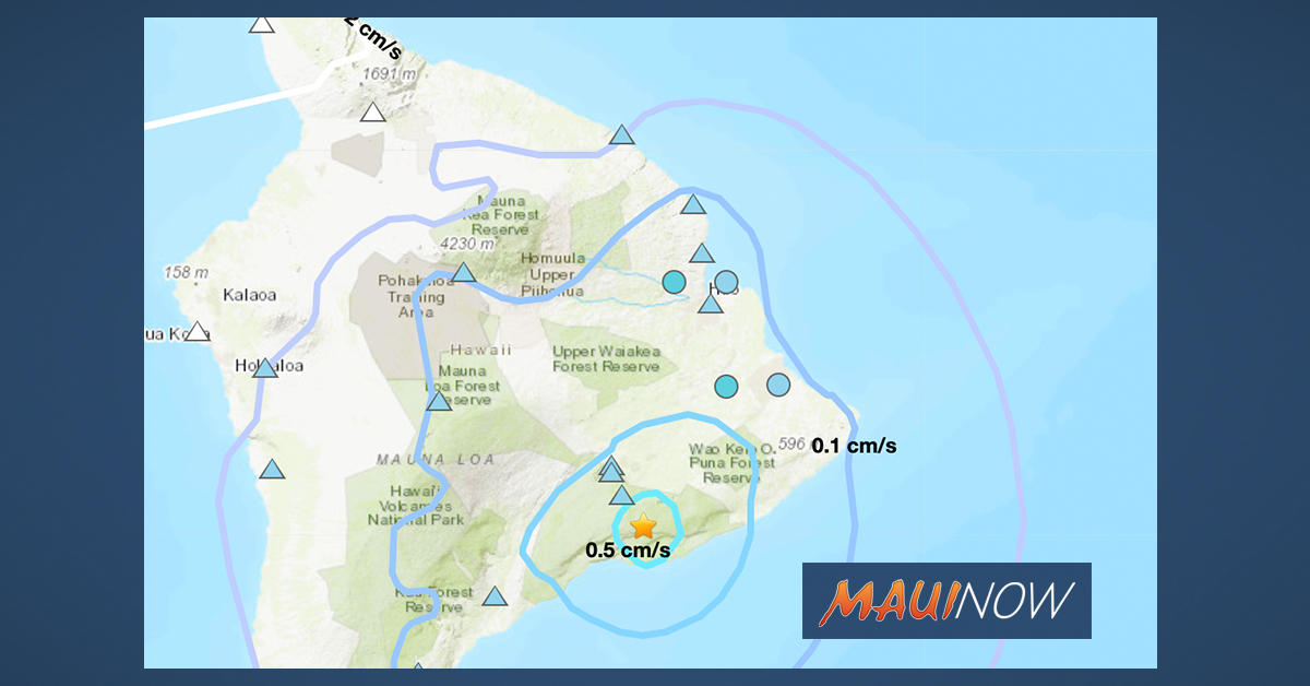 UPDATE: No Tsunami Threat After 4.2 Hawai'i Earthquake