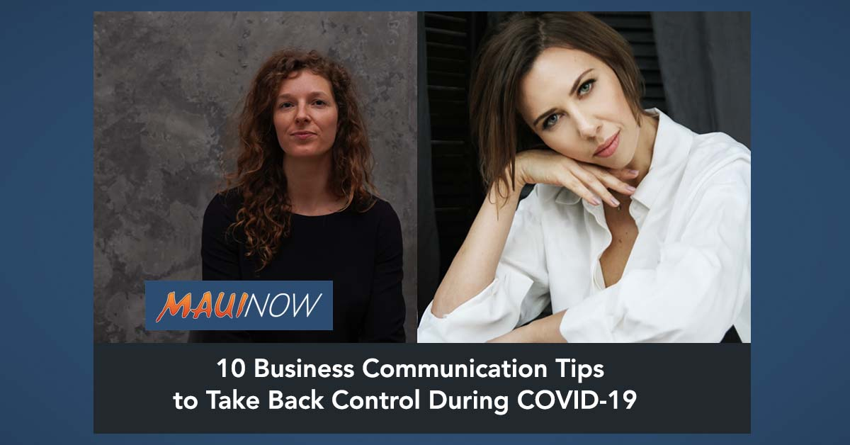 10 Business Communication Tips to Take Back Control During COVID-19