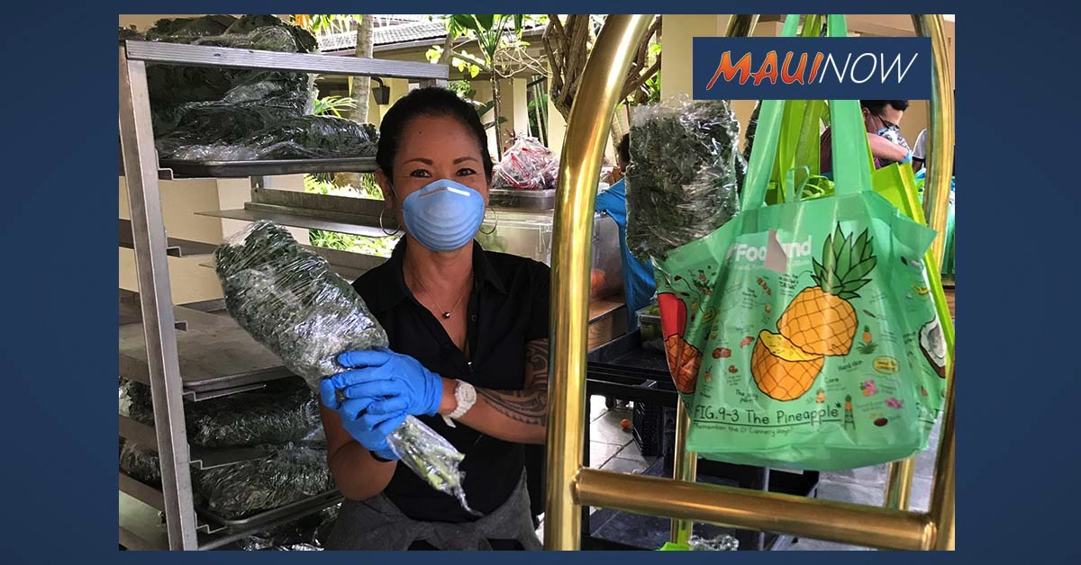Maui Resorts Donate 1000 Pounds of Produce and Provisions to Nonprofits