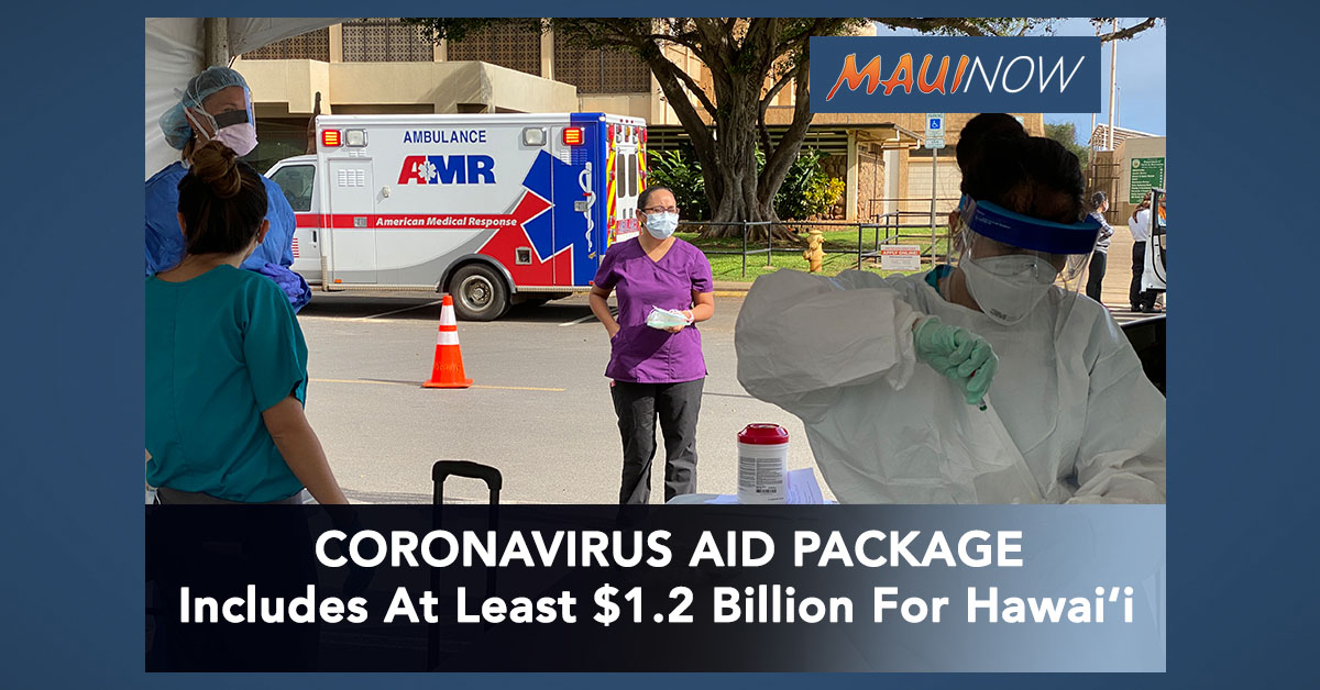 Coronavirus Aid Package, Includes At Least $1.2 Billion For Hawai'i
