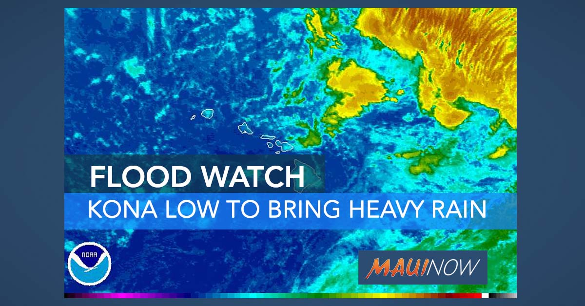Hawai'i Under Flash Flood Watch Through Tuesday