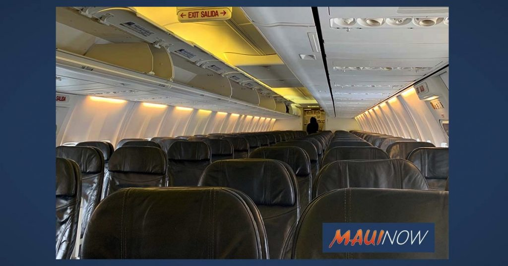 Maui Now: Maui Air Arrivals Slow to 81: 28 Residents, 10 Visitors and 43 Crew Members