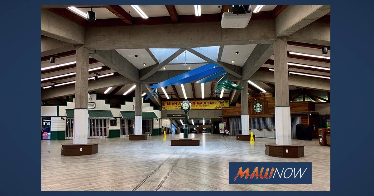 Maui Air Arrivals Slow to 74; Statewide Arrivals Drop to 826