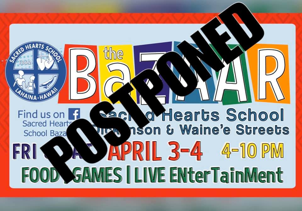 Sacred Hearts School Annual Bazaar Postponed