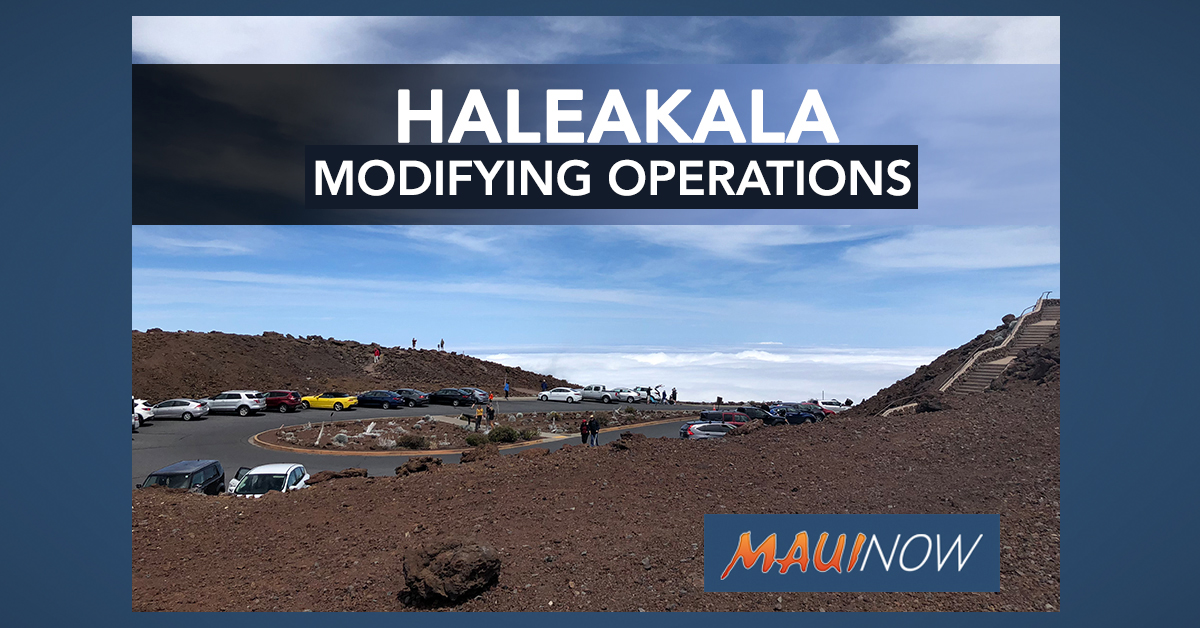 Haleakalā National Park Modifying Operations to Implement Latest Health Guidance