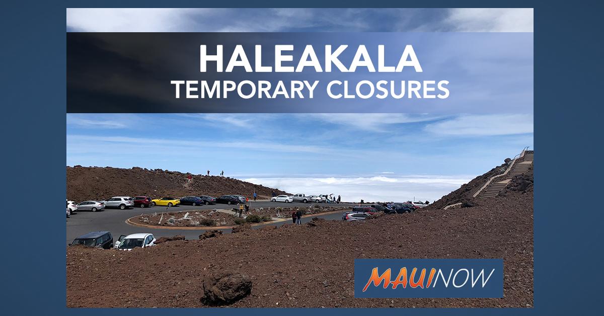 Haleakalā National Park Temporary Closures Begin March 17, 2020