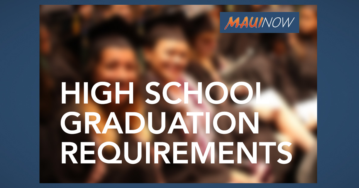 Approval Sought to Modify High School Graduation Requirements in Light of COVID-19