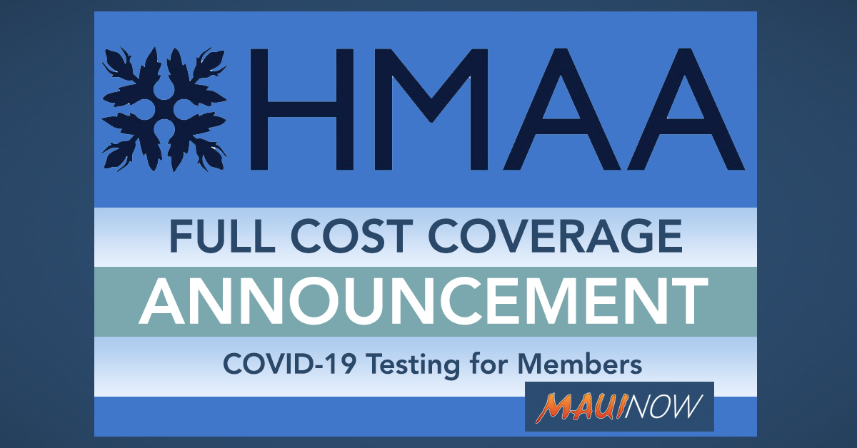 HMAA Announces Full Cost Coverage of COVID-19 Testing for Members