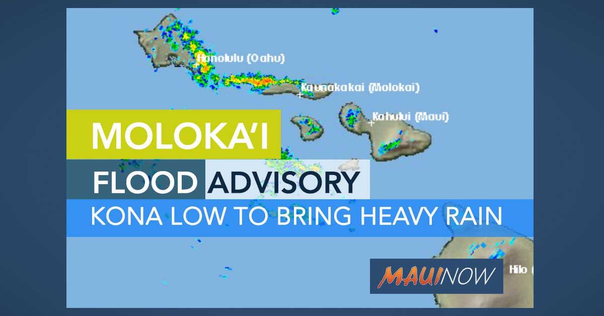 Moloka'i Flood Advisory Until 2:45 p.m.