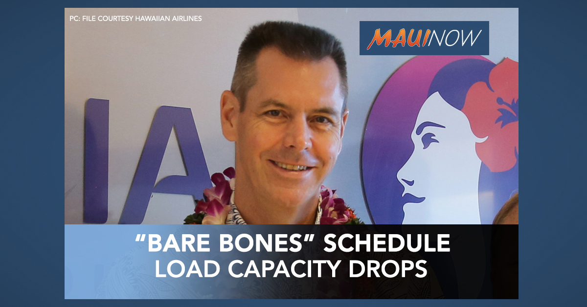 Hawaiian Airlines Reduces Schedule to 'Bare Bones Level' After Wednesday