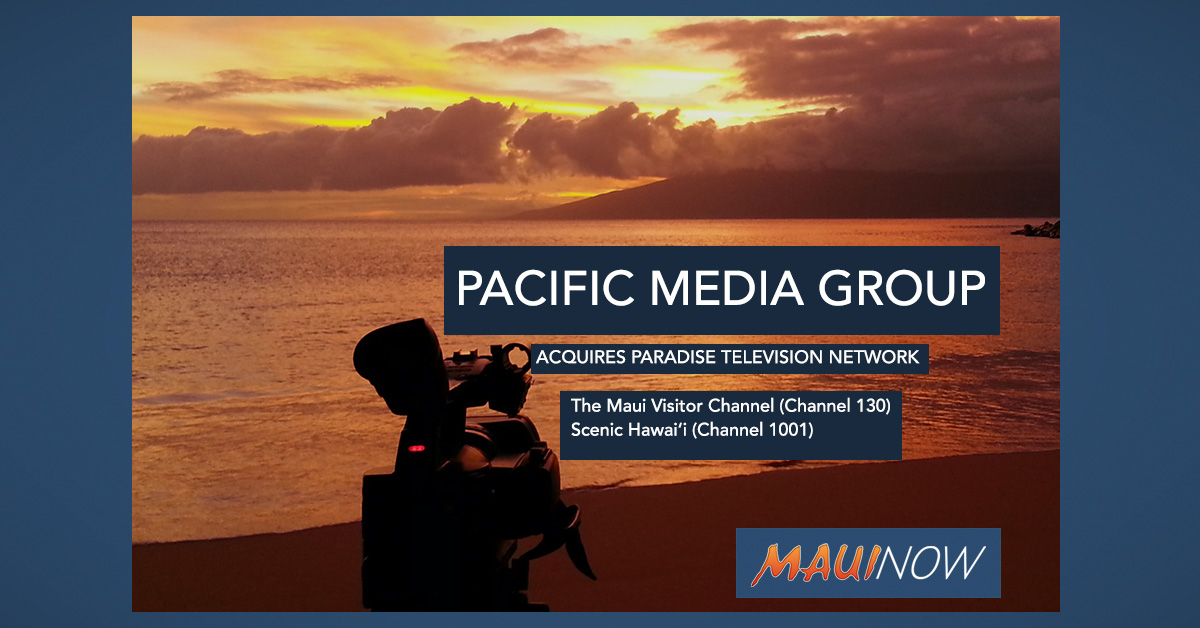 Pacific Media Group Acquires Paradise Television Network