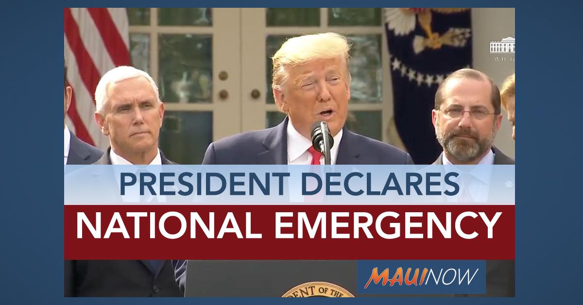 Presidential Address: Trump Declares National Emergency