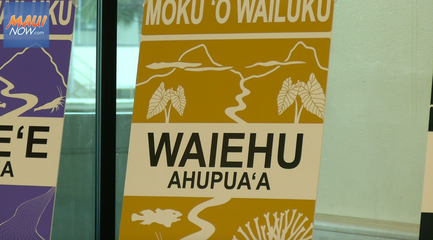 New Signs to Show Original Place Names of Central Maui
