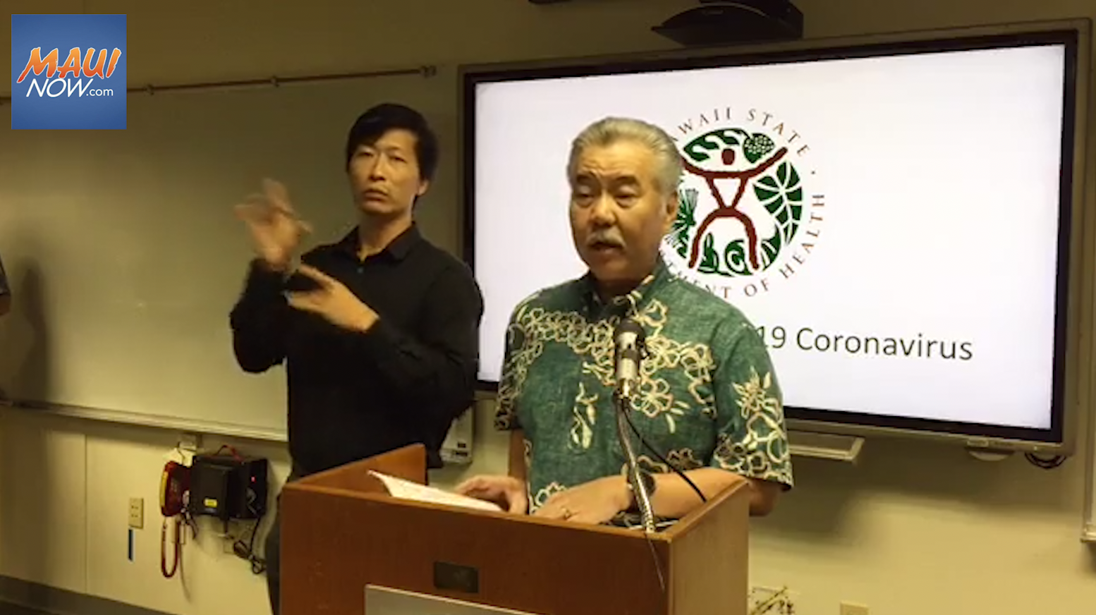 Hawai'i Measures to Address Economic Impact of COVID-19